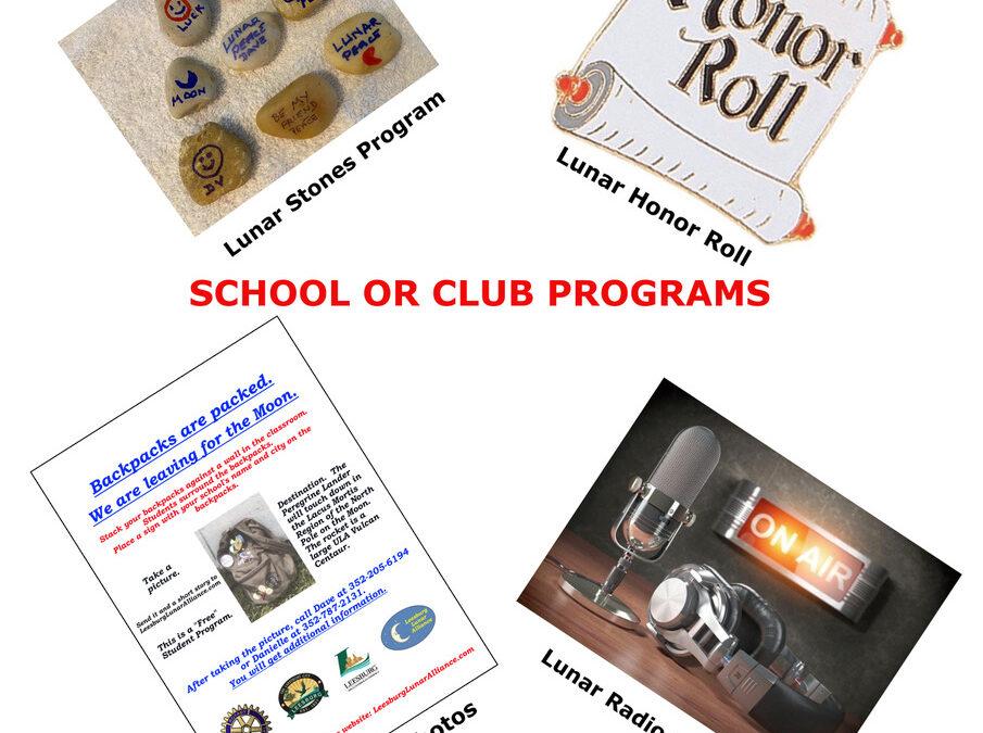8 School or Club Programs Flyer