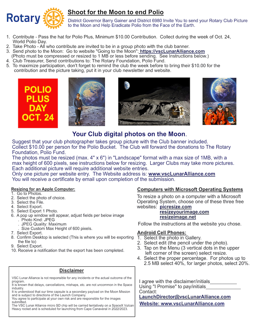 Your Shot at the Moon V2.0