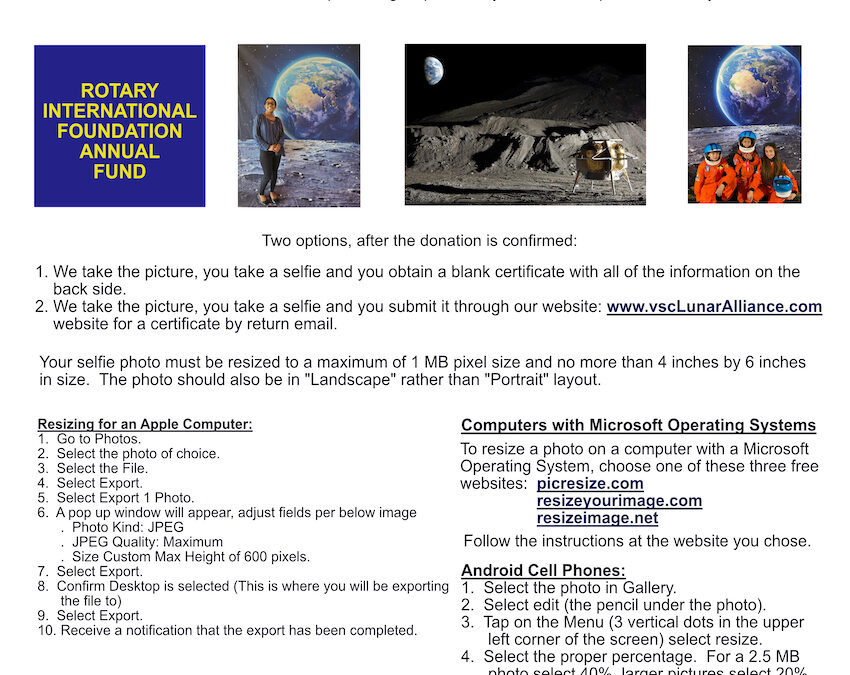 Your Shot at the Moon V3.0